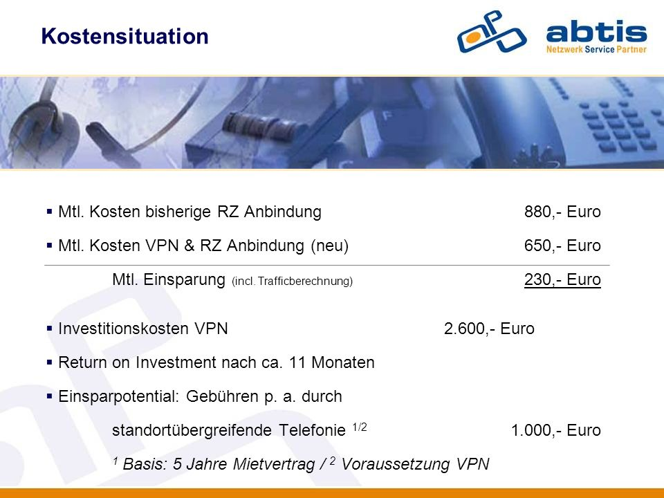 Kostensituation IT - Security
