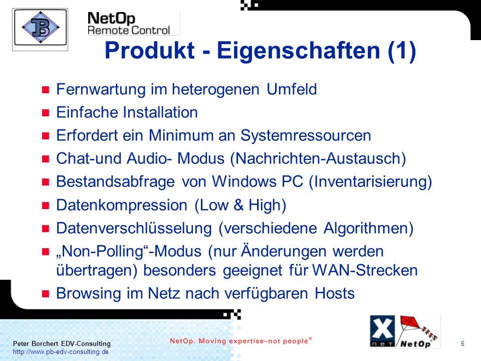 Produkt - Eigenschaften (1)