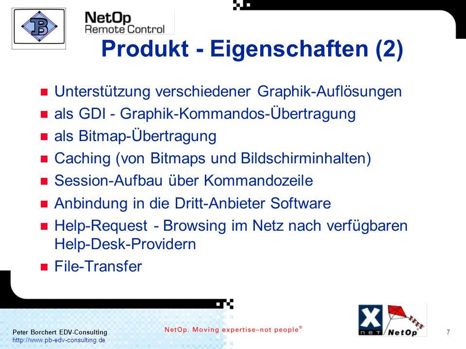 Produkt - Eigenschaften (2)