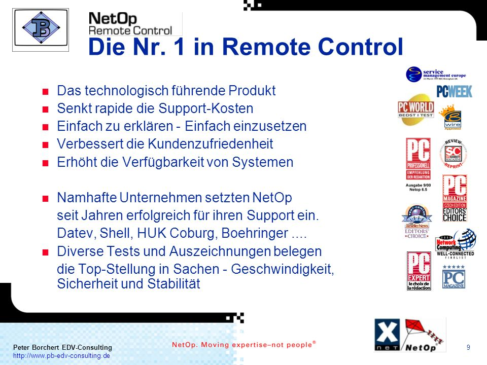 Die Nr. 1 in Remote Control