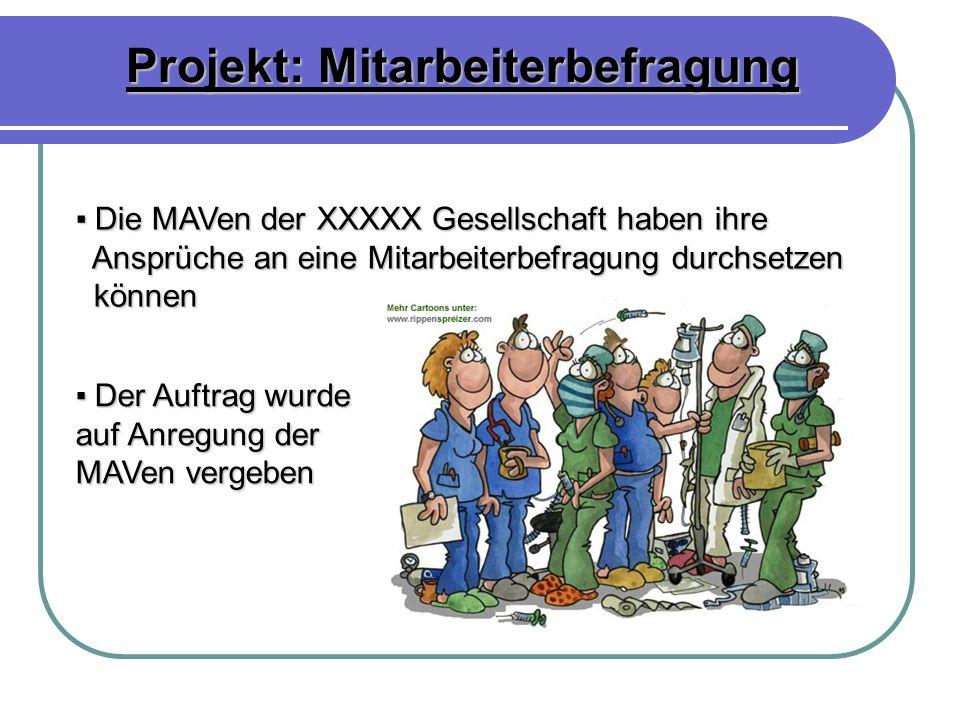 Projekt: Mitarbeiterbefragung