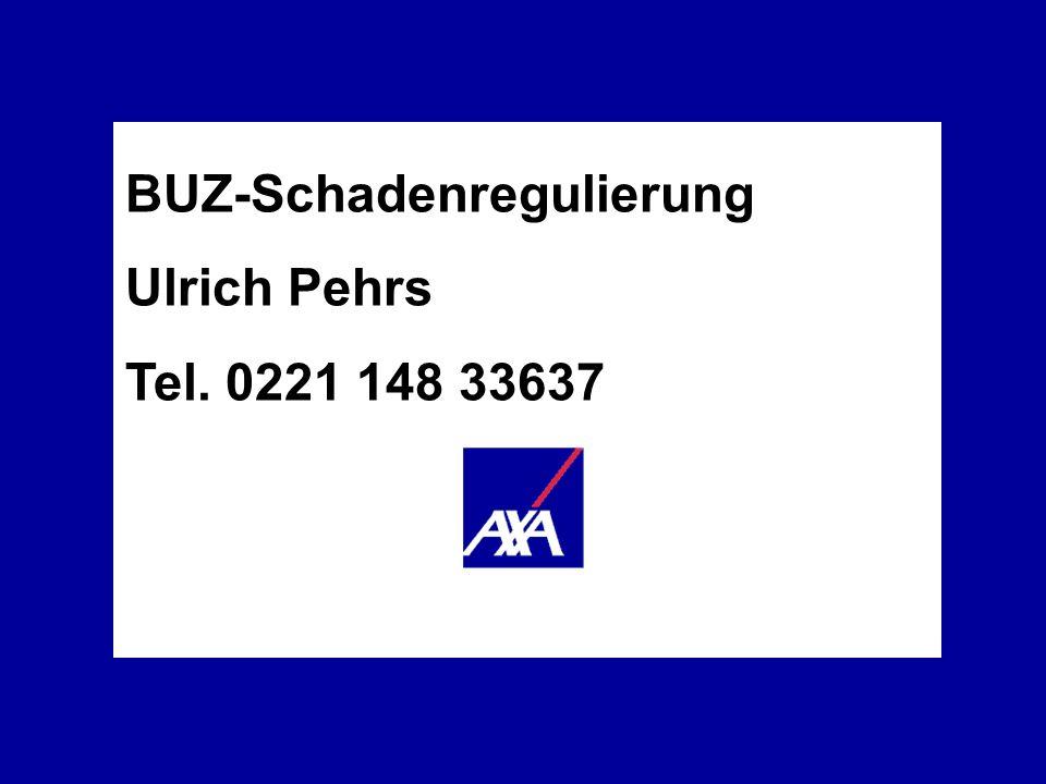 BUZ-Schadenregulierung