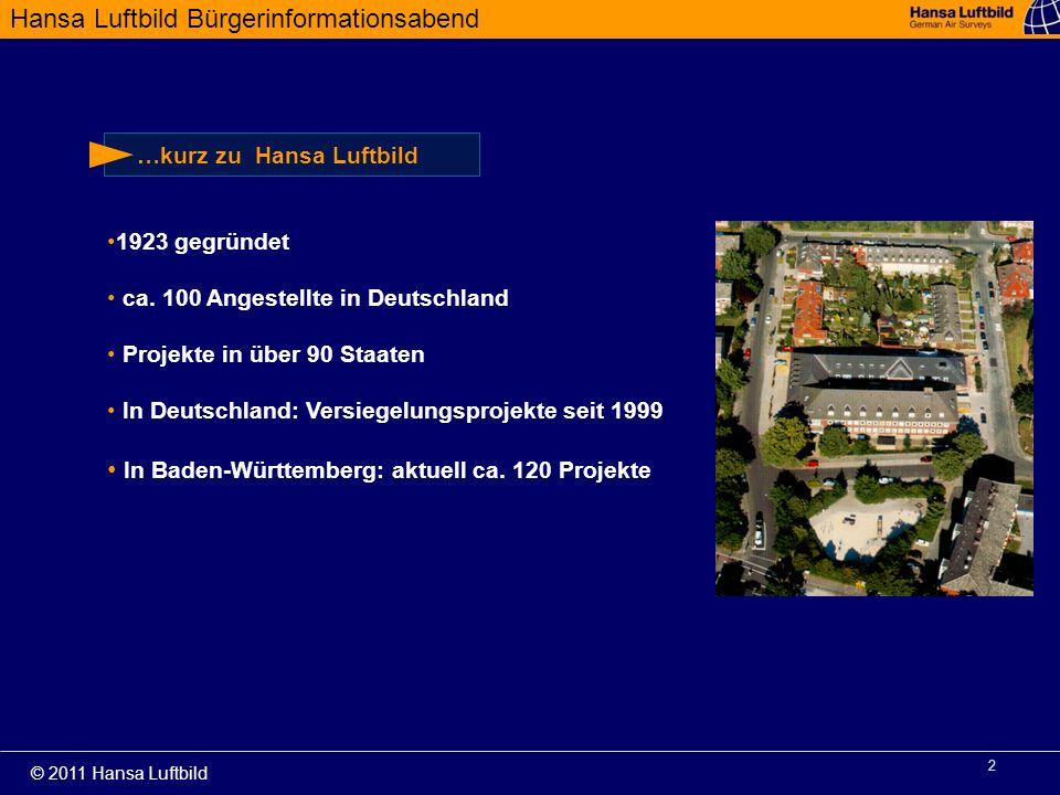 In Baden-Württemberg: aktuell ca. 120 Projekte