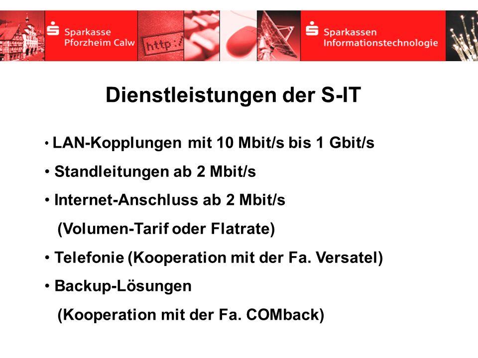 Dienstleistungen der S-IT