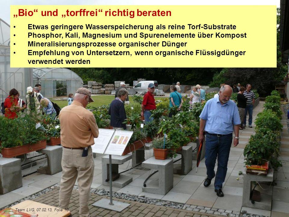 """""""Bio und """"torffrei richtig beraten"""