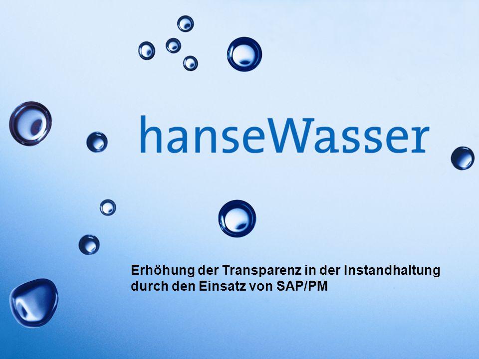 Erhöhung der Transparenz in der Instandhaltung durch den Einsatz von SAP/PM