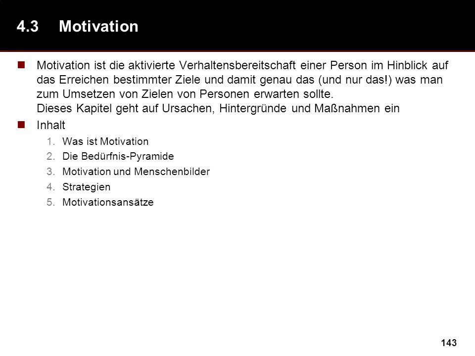 4.3 Motivation