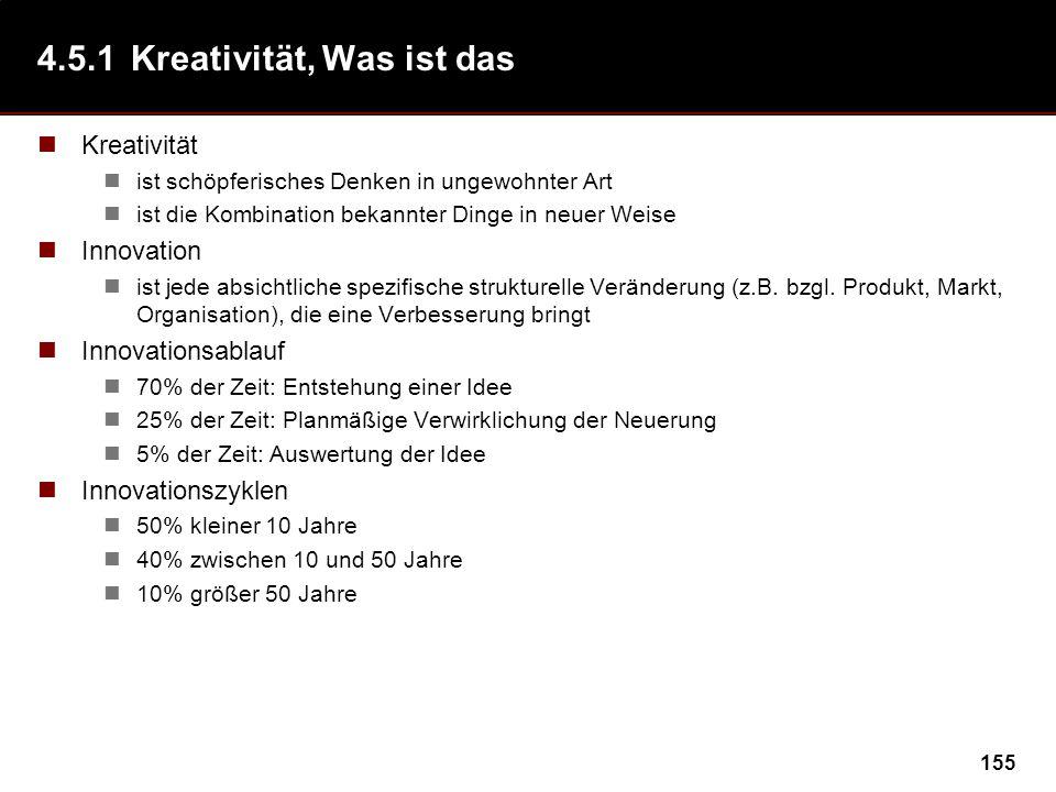 4.5.1 Kreativität, Was ist das