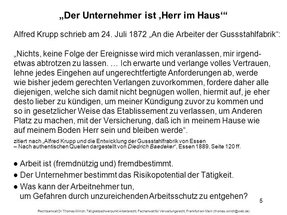 """""""Der Unternehmer ist 'Herr im Haus'"""