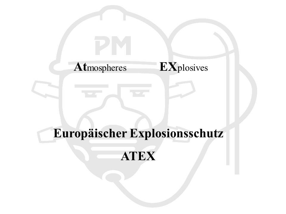 Europäischer Explosionsschutz