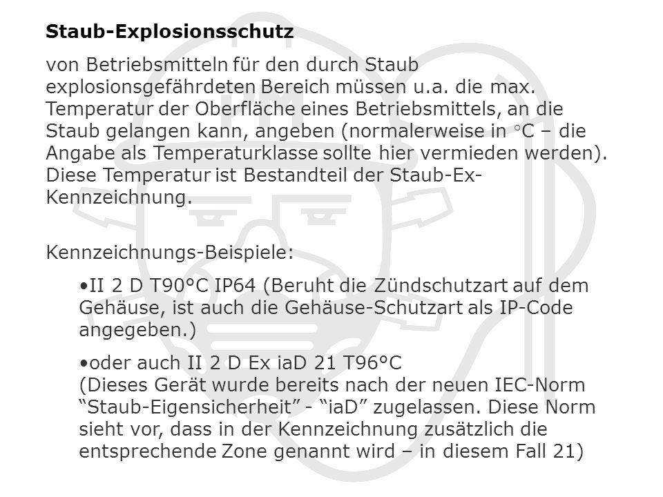 Staub-Explosionsschutz