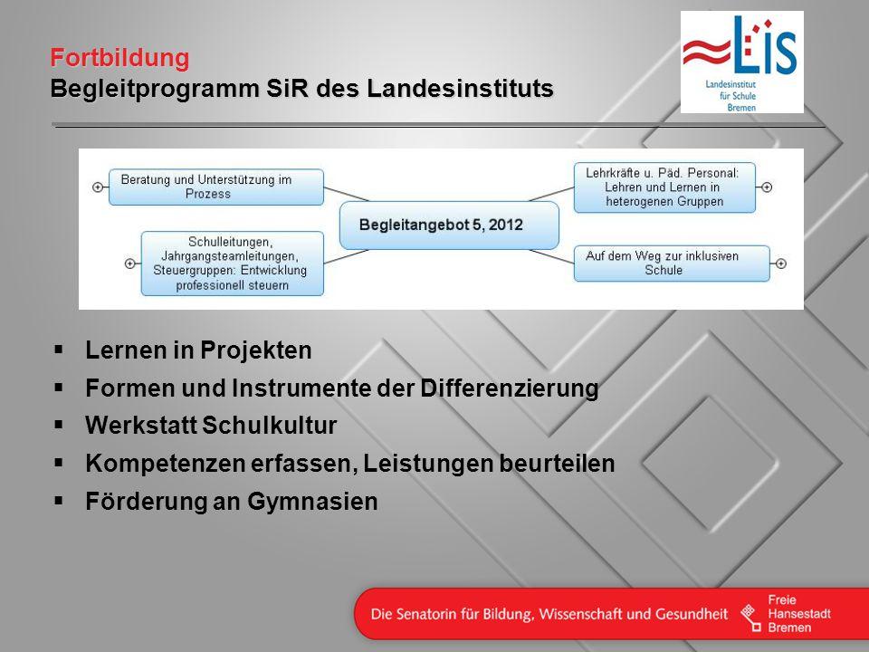 Fortbildung Begleitprogramm SiR des Landesinstituts