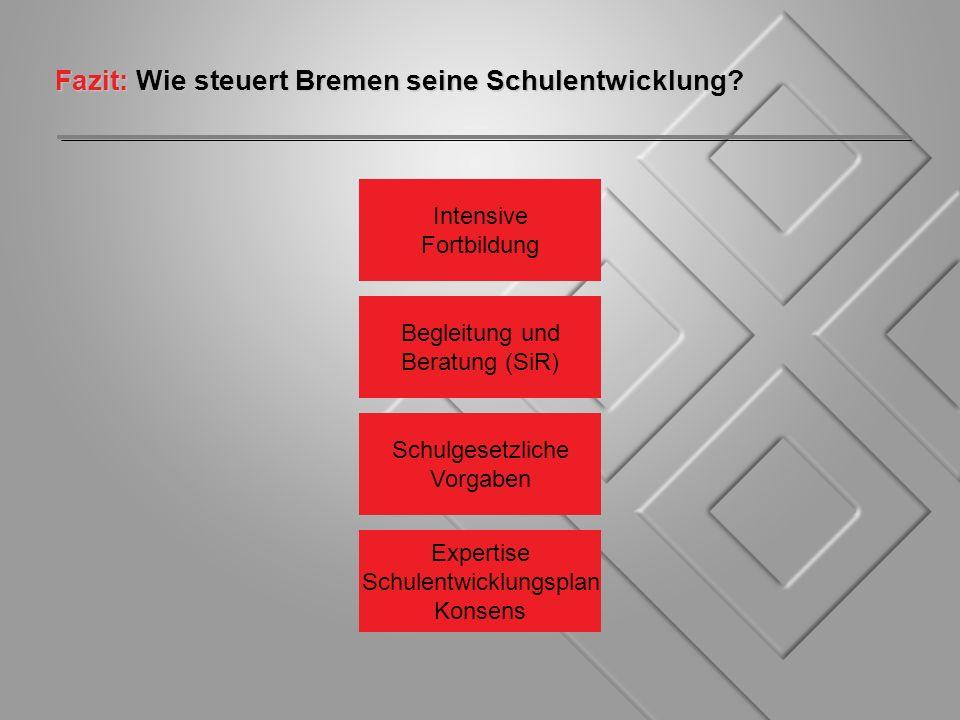 Fazit: Wie steuert Bremen seine Schulentwicklung