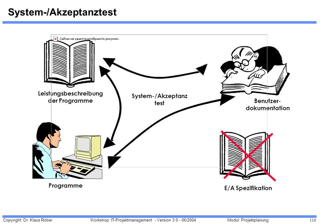 System-/Akzeptanztest