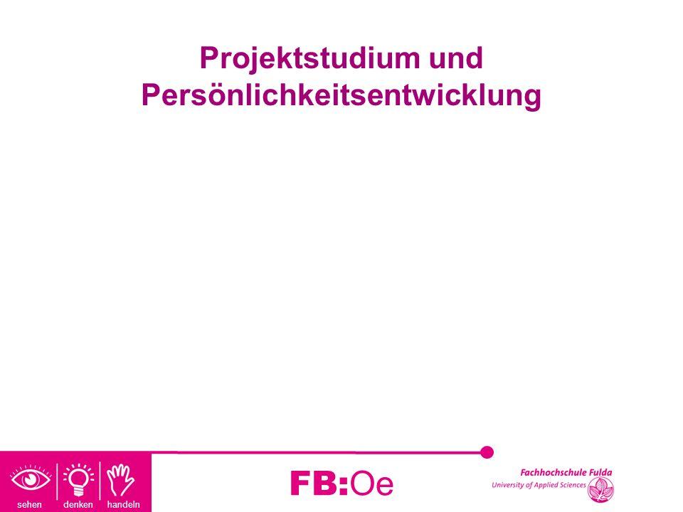 Projektstudium und Persönlichkeitsentwicklung