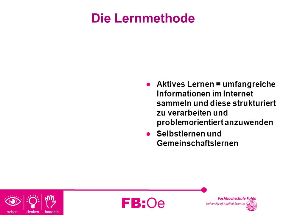 Die Lernmethode