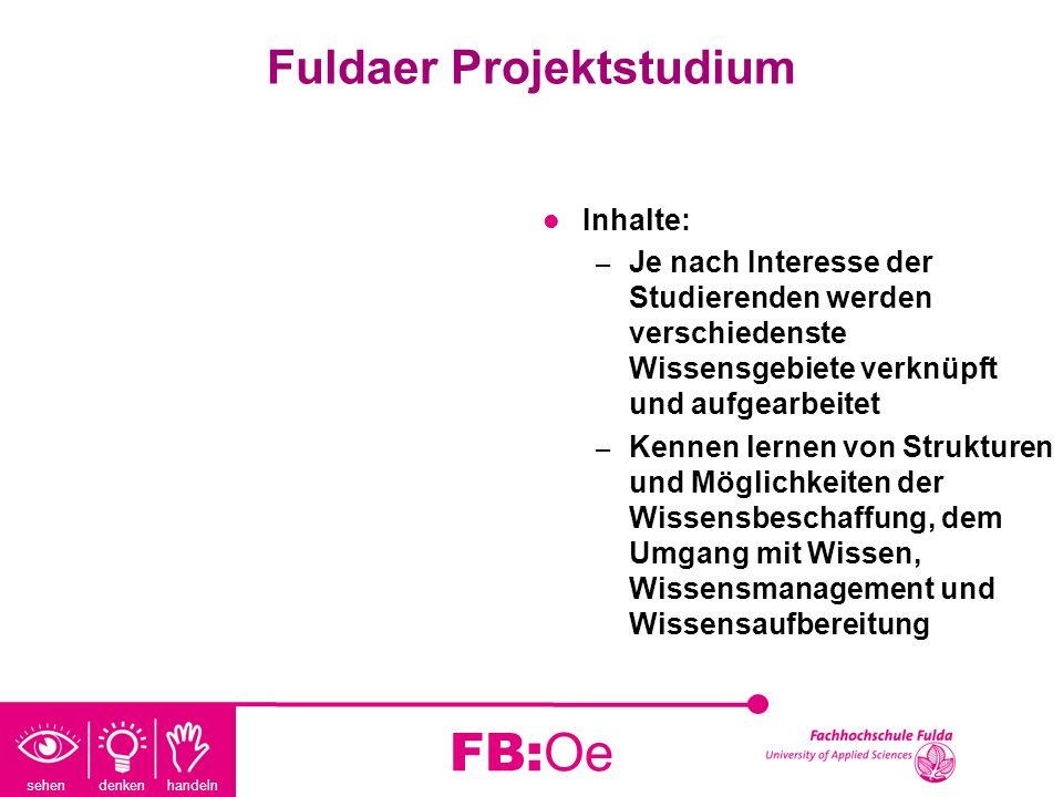 Fuldaer Projektstudium