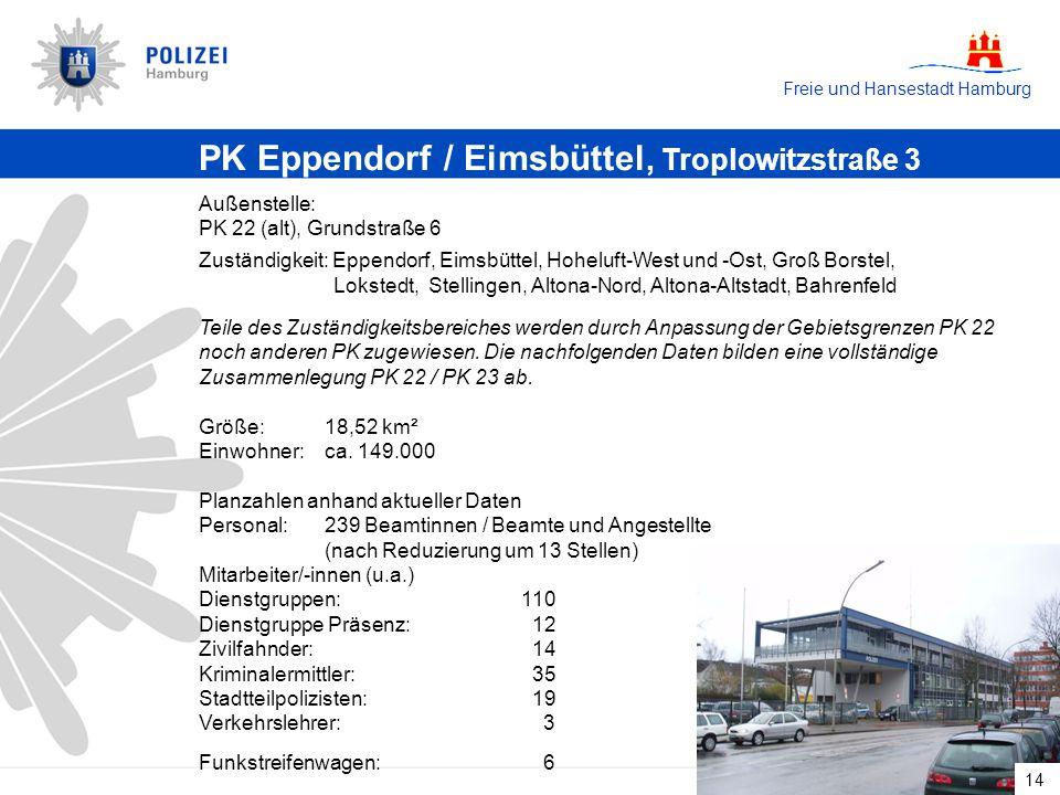 PK Eppendorf / Eimsbüttel, Troplowitzstraße 3