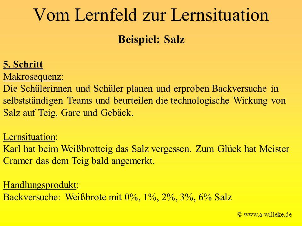 Vom Lernfeld zur Lernsituation