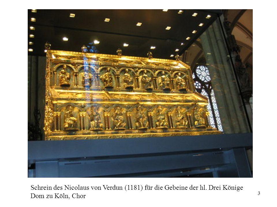 Schrein des Nicolaus von Verdun (1181) für die Gebeine der hl