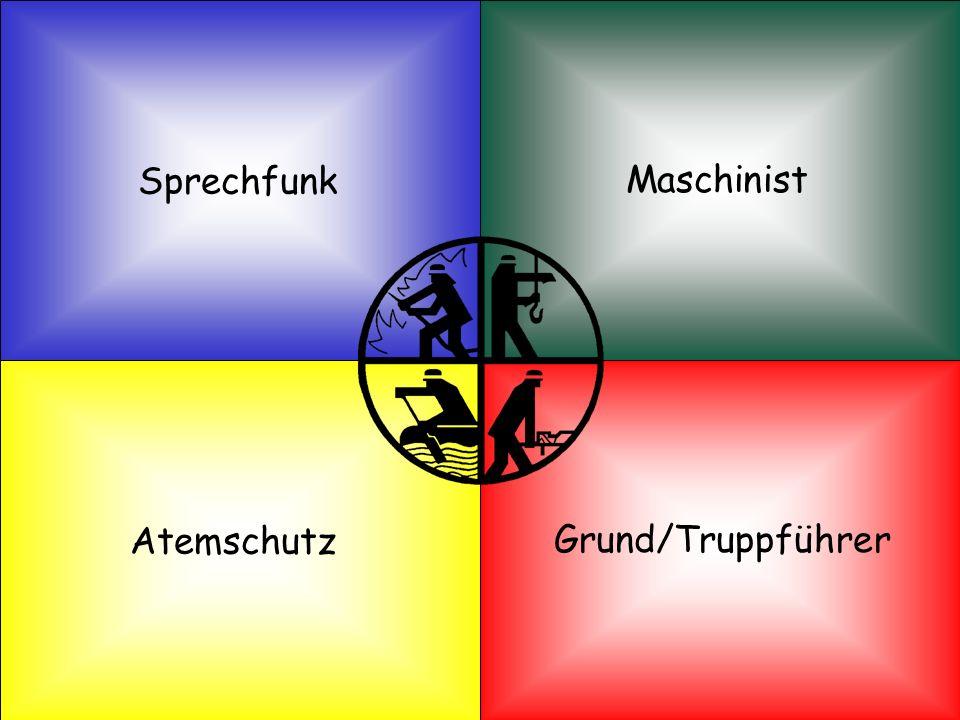 Sprechfunk Maschinist Atemschutz Grund/Truppführer Quellennachweis: