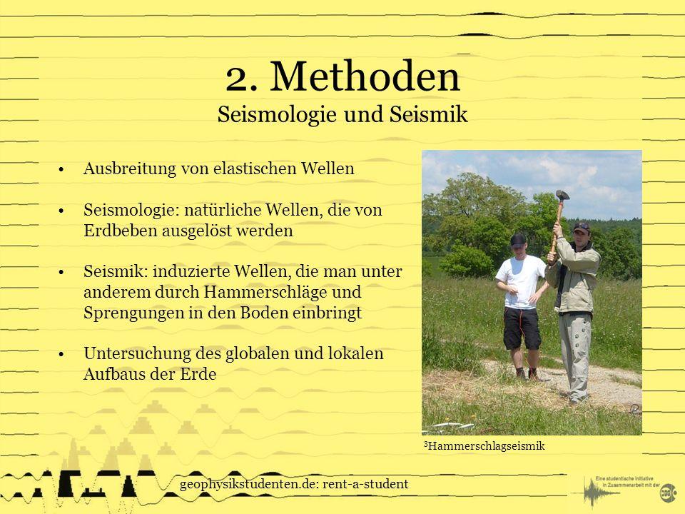 2. Methoden Seismologie und Seismik