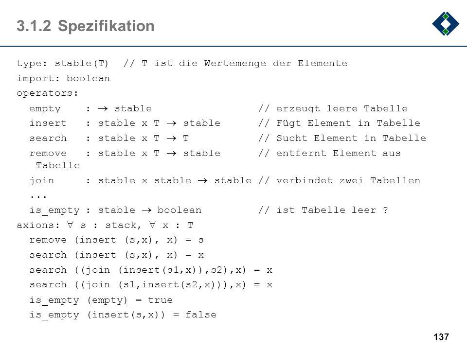 3.1.2 Spezifikation
