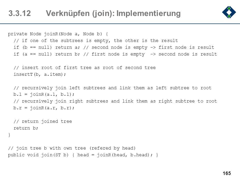 3.3.12 Verknüpfen (join): Implementierung