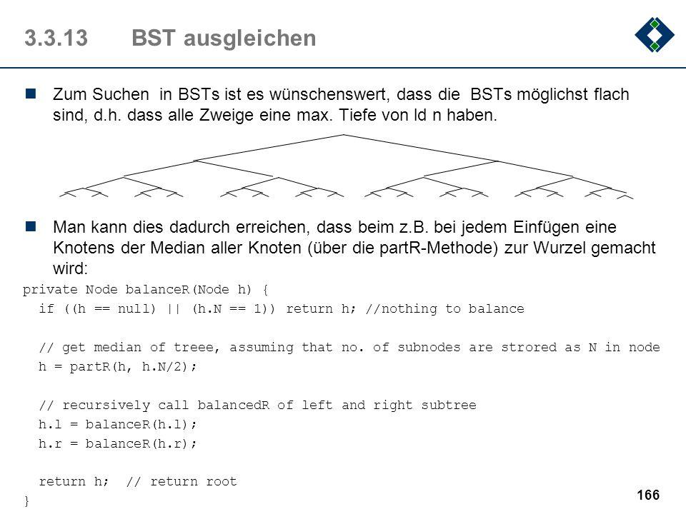 3.3.13 BST ausgleichen