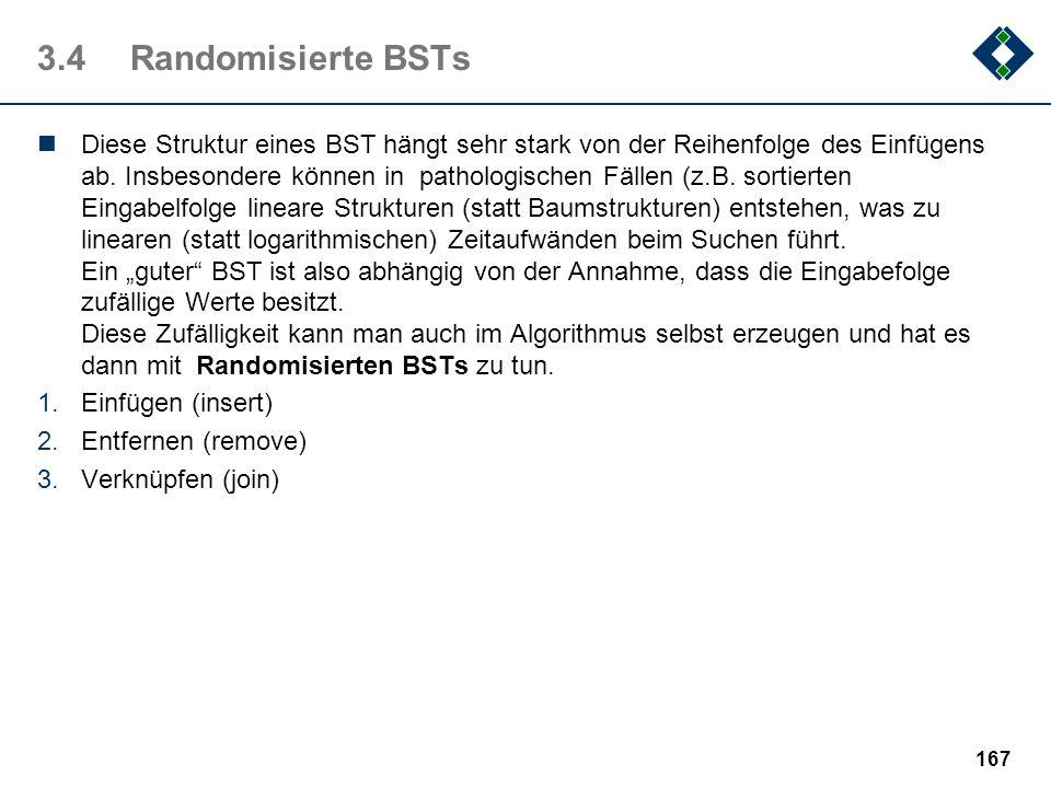 3.4 Randomisierte BSTs