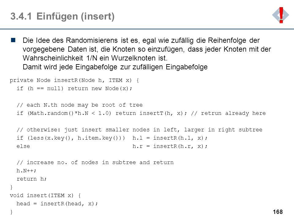 ! 3.4.1 Einfügen (insert)