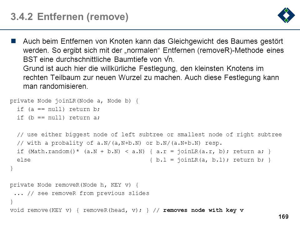 3.4.2 Entfernen (remove)