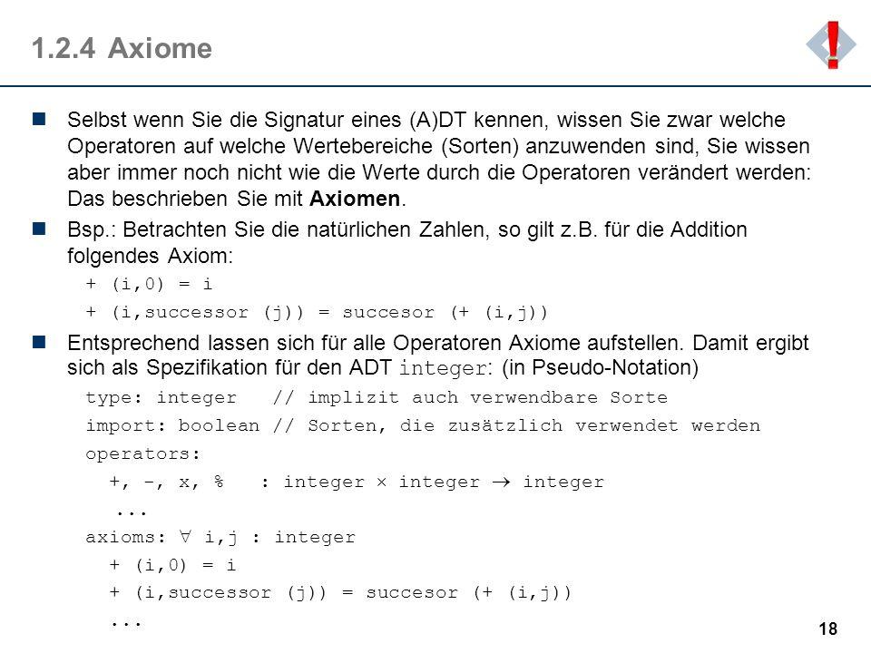 ! 1.2.4 Axiome.
