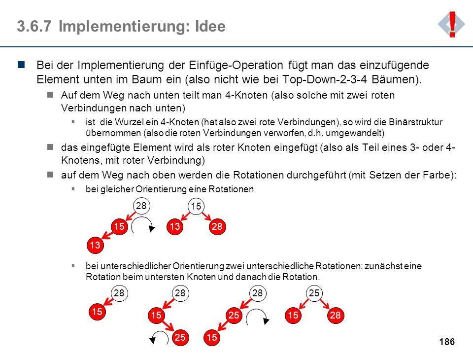 3.6.7 Implementierung: Idee