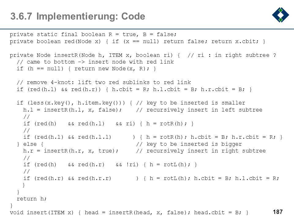 3.6.7 Implementierung: Code