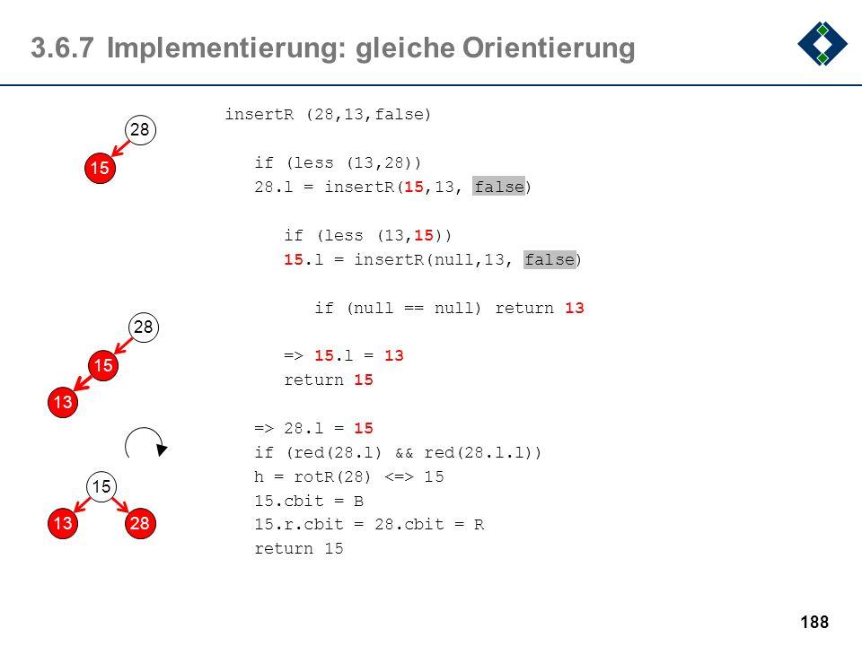 3.6.7 Implementierung: gleiche Orientierung