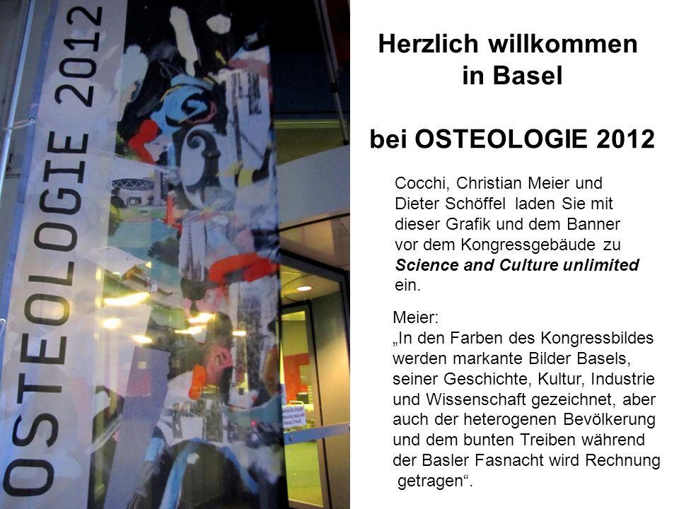 Herzlich willkommen in Basel bei OSTEOLOGIE 2012