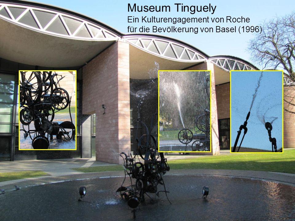 Museum Tinguely Ein Kulturengagement von Roche
