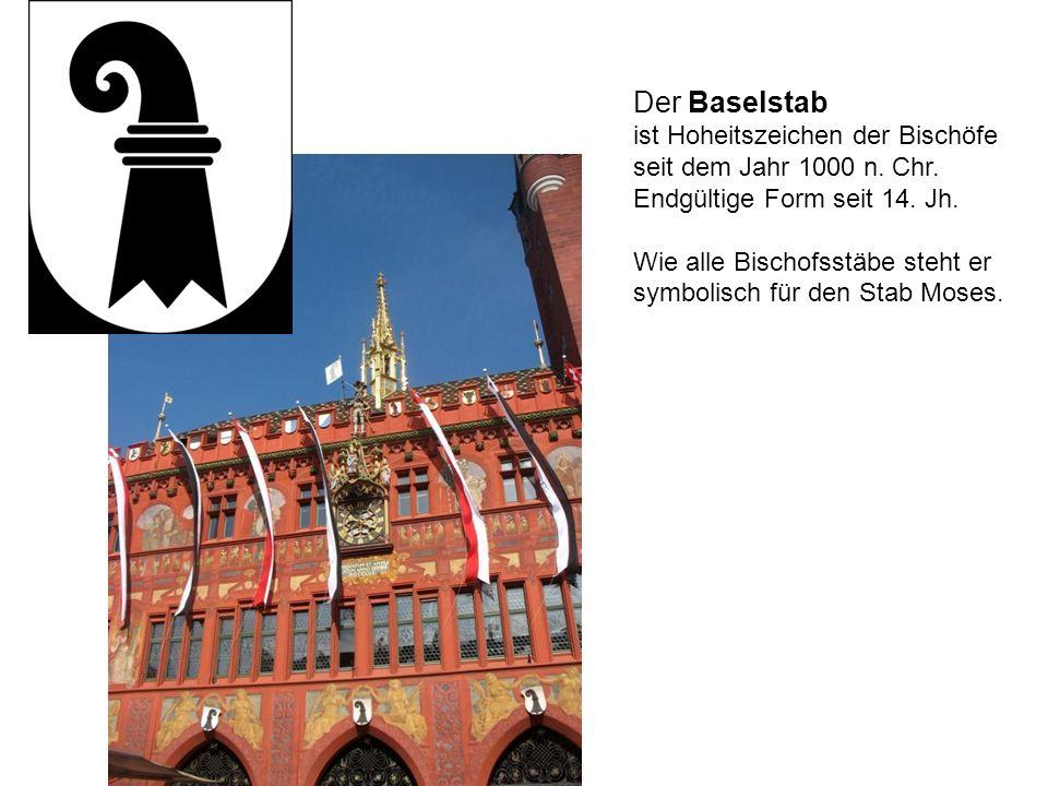 Der Baselstab ist Hoheitszeichen der Bischöfe