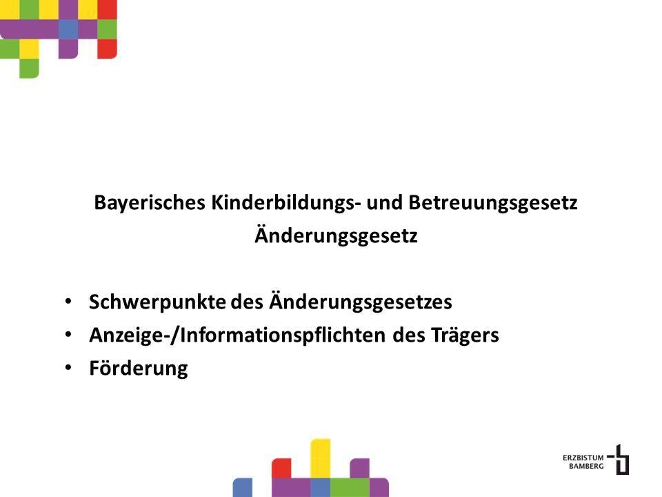 Bayerisches Kinderbildungs- und Betreuungsgesetz