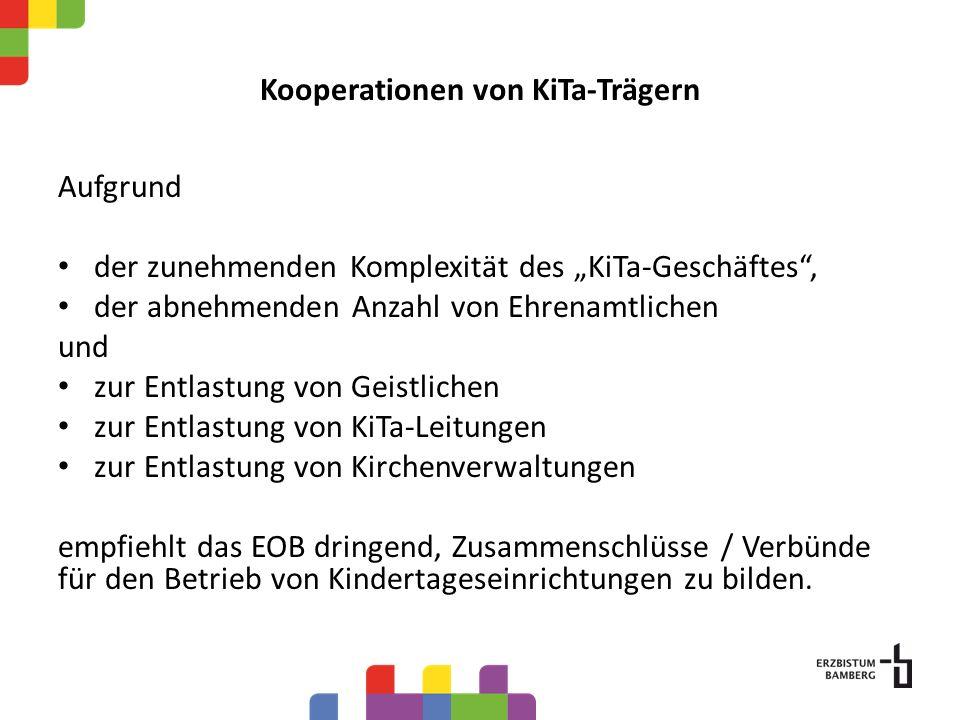 Kooperationen von KiTa-Trägern