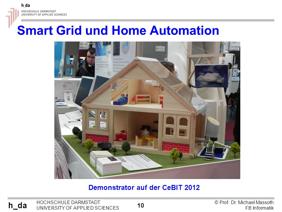 Smart Grid und Home Automation
