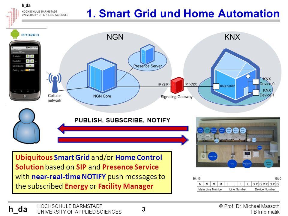 1. Smart Grid und Home Automation