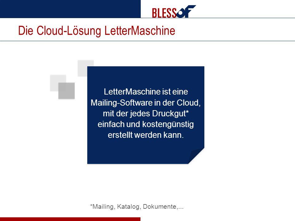 Die Cloud-Lösung LetterMaschine