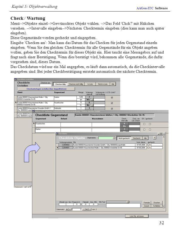 Kapitel 5: Objektverwaltung