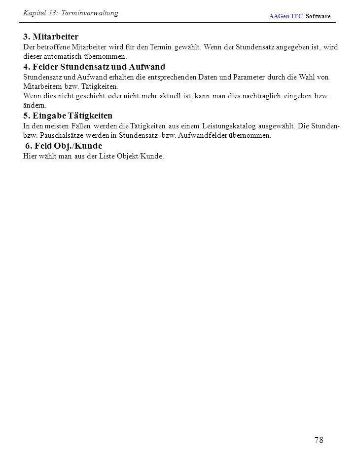 Kapitel 13: Terminverwaltung