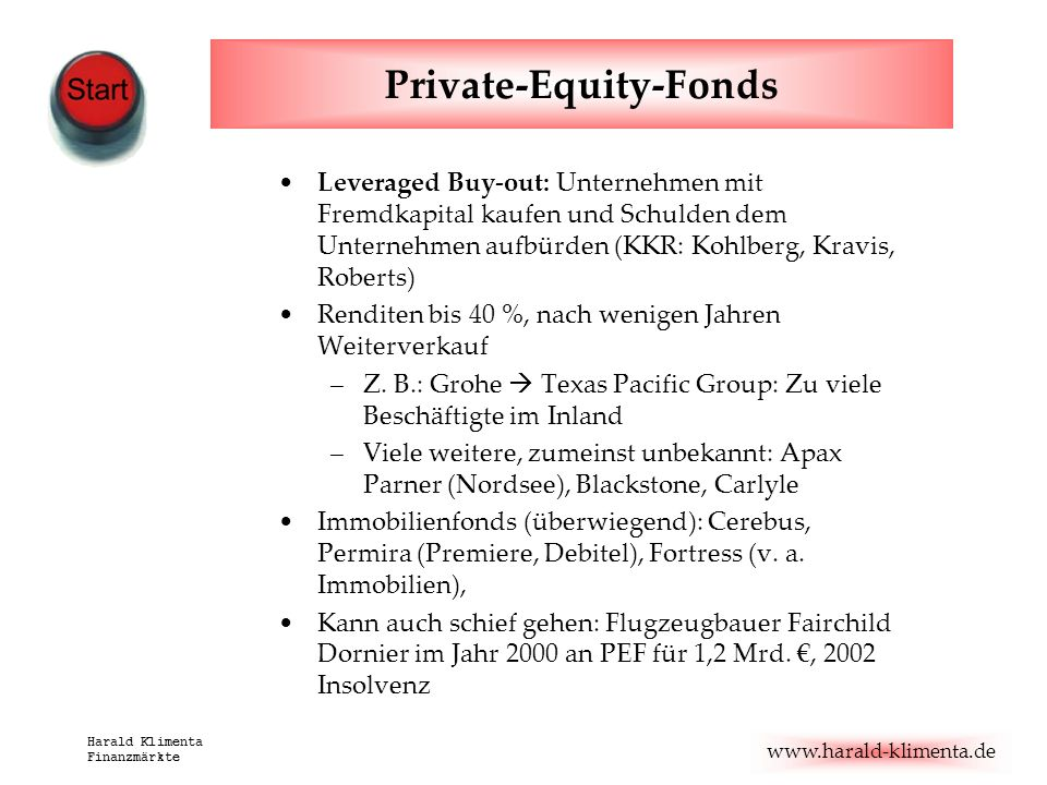 Private-Equity-Fonds
