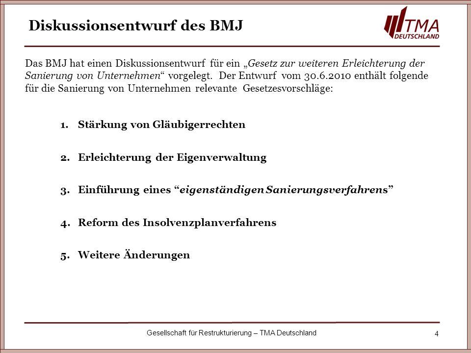 Diskussionsentwurf des BMJ