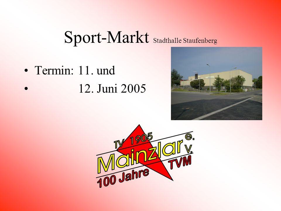 Sport-Markt Stadthalle Staufenberg