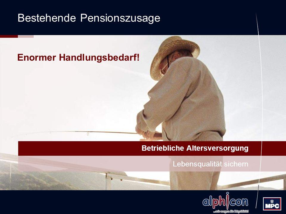 Bestehende Pensionszusage
